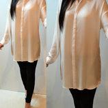 Длинная Белая Блуза