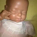 Коллекционная винтажная кукла сплюша,сплюшка,пупс на реставрацию реборн ребенок