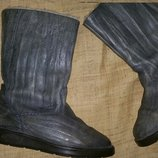 6р-25 см кожа на шерсти Camel boots