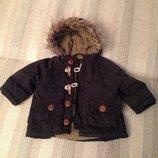 идеальная куртка курточка Zara на малыша 6-9 мес