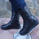 Ботинки женские зима. S-87. натур. кожа.