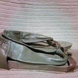 Оригинальные кожаные комбинированные босоножки Invito. Голландия. 37