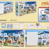 Домик Happy Family , флоксовые животные, в кор. 68 36 16см 012-11