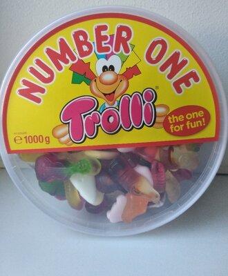 Желейные конфеты Тролли Trolli ассорти 1 кг