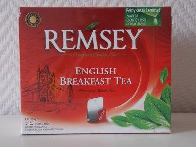 Чай черный Remsey 75 пакетиков