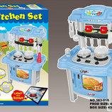 Кухня детская Kitchen Set 383-015 голубая