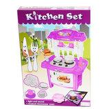 Кухня детская Kitchen Set 383-017 фиолетовая