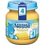 Кукурузное пюре Nestle Нестле привозим под заказ со Швеции с 4-х месяцев 125 грамм