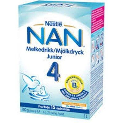 NAN 4 Nestle привозим со Швеции под заказ, молочная смесь 700 грамм