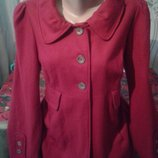 Шерстяне пальтішко 14-16 розмір