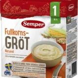 Зерновая каша овес и кукуруза от 1 года Семпер Semper Naturell, доставка под заказ со Швеции