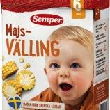 Вэллинг кукурузная каша Semper с 6-ти месяцев, со Швеции
