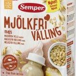 Безмолочная кукурузная каша Semper Семпер с 6 месяцев, привозим под заказ со Швеции