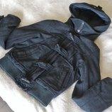 Теплая пальтовая куртка, шерстяная куртка пальто Topshop с утеплителем, деми и еврозима. Разм. М 12