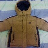 Куртка тёплая зимняя для мальчика 2-3 лет