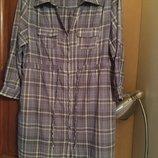 Трендовое платье рубашка Ha Lu Daydreamer. Р-Р L