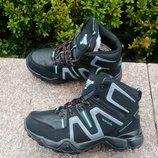 Женские зимние кроссовки, ботинки на меху фирма Sayata размер 36-41 чёрные