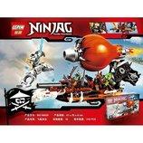 Конструктор 06027 Ninja Lepin Ниндзя Ninjago Ниндзяго