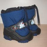 Зимние дутики, сноубутсы Польша Demаr арт. Snowmen-4010c р. 20-29 ботинки