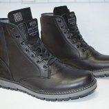 мужские зимние ботинки белвис