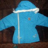 куртка новая теплая. Зима
