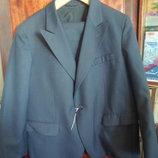 новый мужской классический костюм на 1 пуговице 58 размера на рост 164 см укр 20 гр