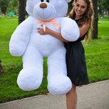 Плюшевая игрушка медведь, мишка 140 см, разные цвета