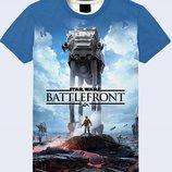 Красочная 3D футболка Battlefront