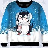 Оригинальный свитшот Пингвиненок