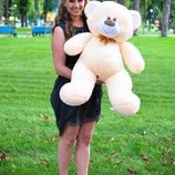 Плюшевая игрушка медведь, мишка 80 см, разные цвета