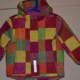 Цветная лыжная куртка для девочки - LUPILU Германия.