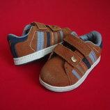 Туфли кроссовки от Next натур замш 22-23 размер
