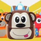 Новые высокого класса детские рюкзаки мультяшные