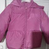 Продам очень теплую зимнюю куртку и штаны, девочке 3 лет