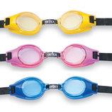 Детские очки для плаванья Intex 3-8 лет