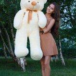 Плюшевая игрушка медведь, мишка 120 см, разные цвета