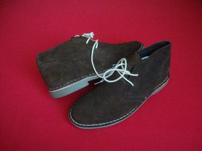 Ботинки Next Brown натур замша 43 размер