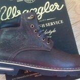 Супер Wrangler Мужские зимние кожаные стильные ботинки сапоги обувь Турция качество классное