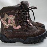 Термо ботинки Geox-tex 27р. кожа