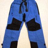 Утепленные брюки 116-146