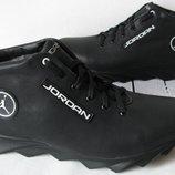 Jordan J2 зимние Мужские кожаные кроссовки обувь качественная ботинки стильные теплые внутри шерсть
