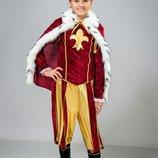 Карнавальный костюм Король,король,детский костюм Король,
