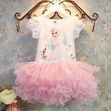 Пышное нарядное платье Принцесса Эльза