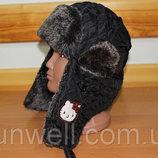 Зимняя шапка-ушанка Тм Sun Сity Франция р.56, 58