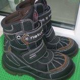 зимние термосапоги ботинки Naturino р.30 ,стелька до загиба 18 см