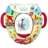Мягкое детское сидение накладка на унитаз Дисней Disney Тачки Cars