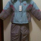 Новый зимний, раздельный, очень тёплый комбинезон для девочки 98 6 см.