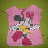 футболка Disney на девочку 5 лет б/у обмен