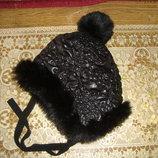 Зимняя шапка New Look девочке на Ог 54-55см