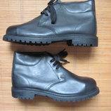 Новые 50/14 размер, 32 см робочие ботинки со стальными носками